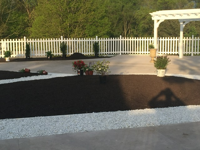 landscape design services in Bethany and Woodbridge, CT