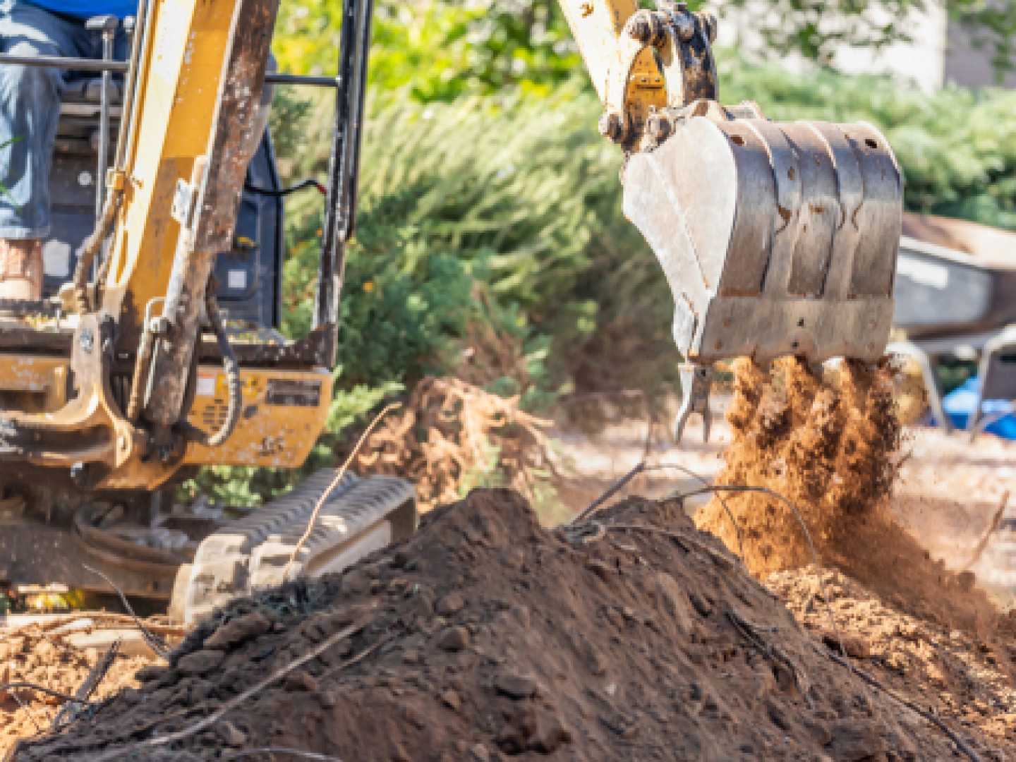 excavation services in Bethany and Woodbridge, CT